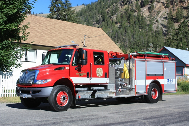 Hedley Improvement District Hid Hedley Fire Department Mission